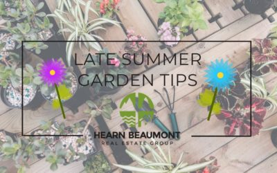 Late Summer Garden Tips