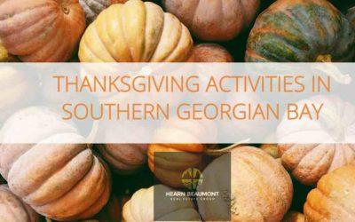 Thanksgiving Weekend – Southern Georgian Bay
